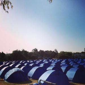 Tent city (photo credit to Lisey)